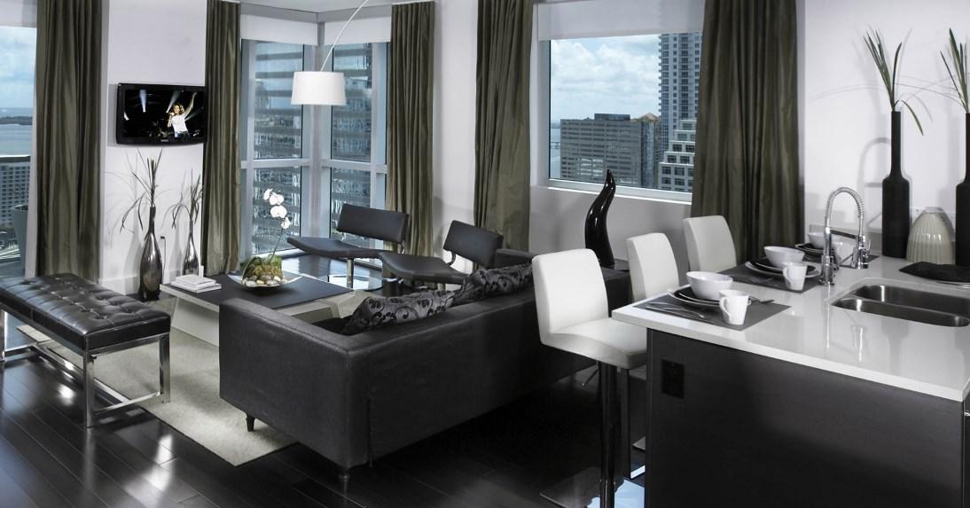 Предметы хай тека мебелив интерьере