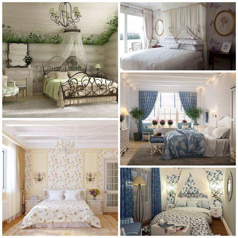 Фото прованс спальни
