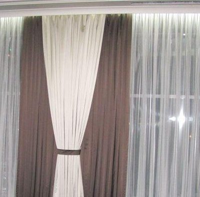 Стильные шторы на фото