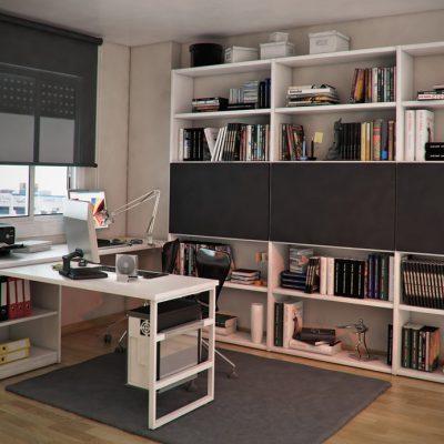 Шкафы в кабинете