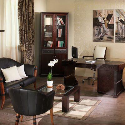 Уютная мебель в кабинете