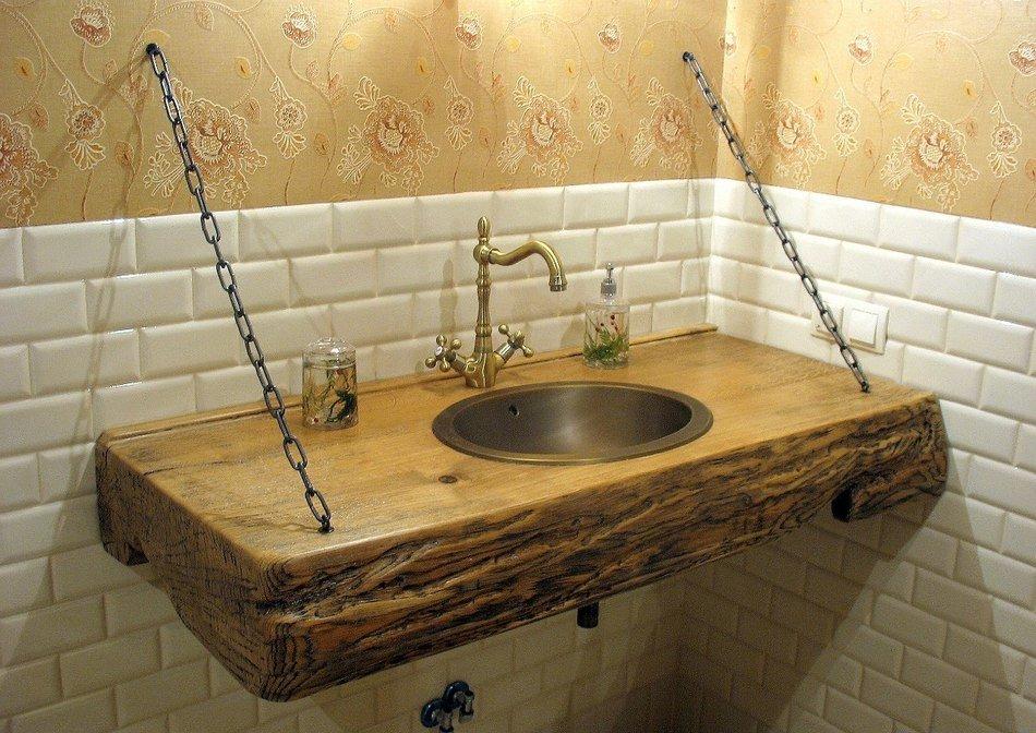 Мебель для ванной своими руками в домашних