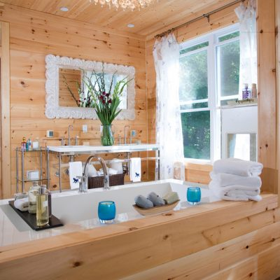 Кантри ванная
