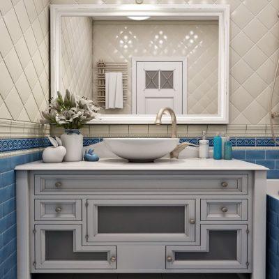 Раковина в ванной