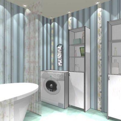 Проект кантри ванной