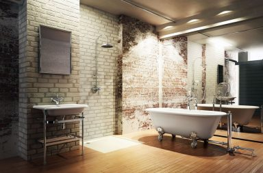 Естественное освещение ванной