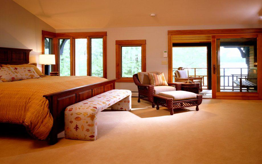 Спальня с окнами по фен шуй