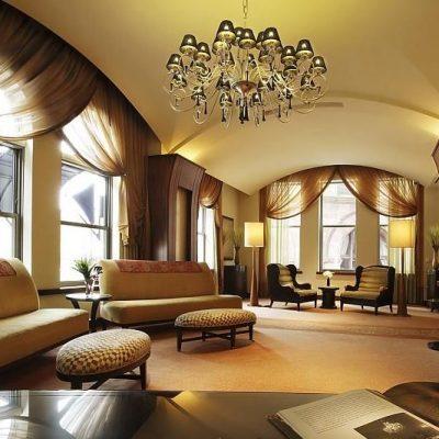 Гостиная комната современного стиля