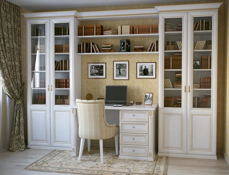 С помощью модульной мебели можно создать рабочее пространство даже в маленькой квартире