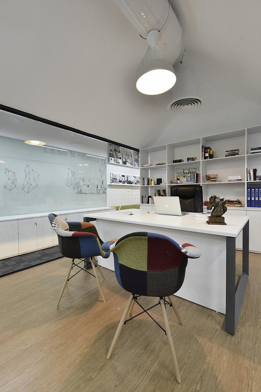 Современный офис помещение по фен шуй