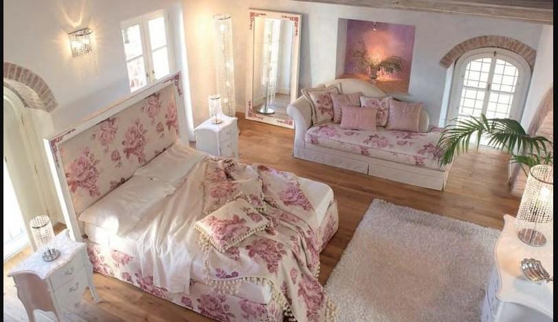 Вид на спальню сверху