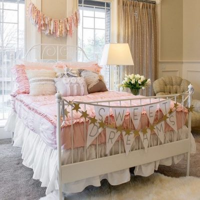 Кровать шебби