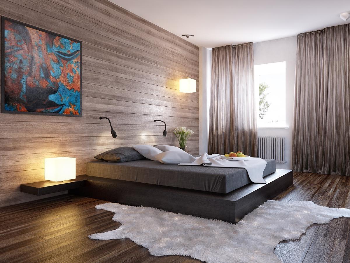 Стильный дизайн спальных комнат