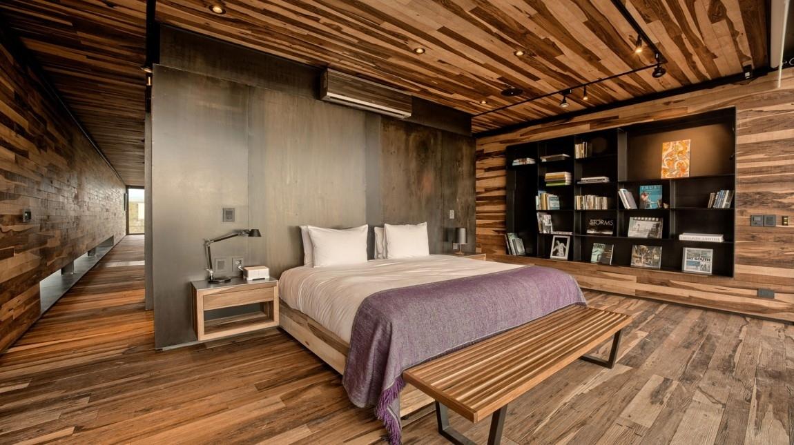 Экостиль в оформлении спальни