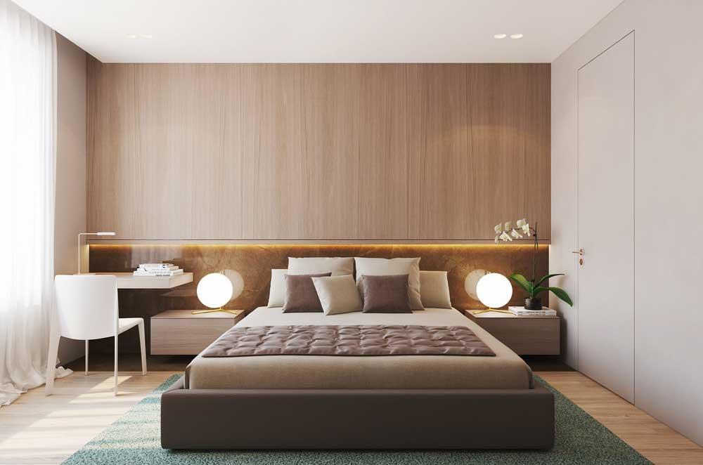 При проектировании освещения в спальне не должно быть резких переходов от света к тени