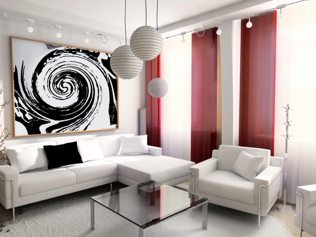 Цветовая палитра интерьера в стиле модерн