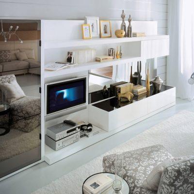 Воплощение стиля модерн в гостиных