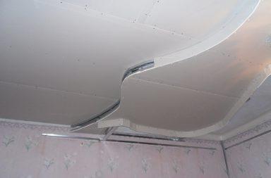 Волнообразные потолки