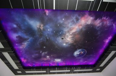 Звёздное небо фото пример