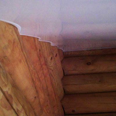 Натяжные потолки подвесные