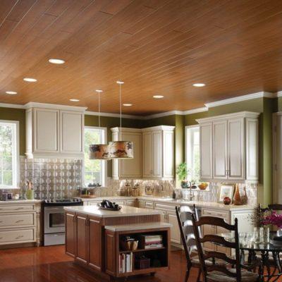 Потолки на кухне