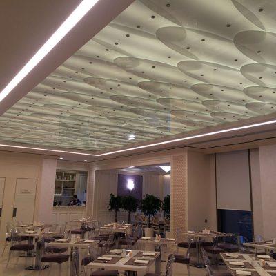 Потолки стекло