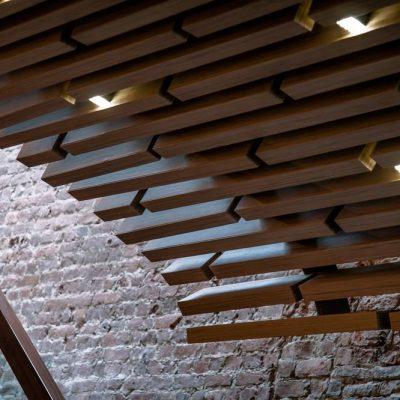 Потолок - рейки