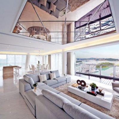 Потолок с зеркала