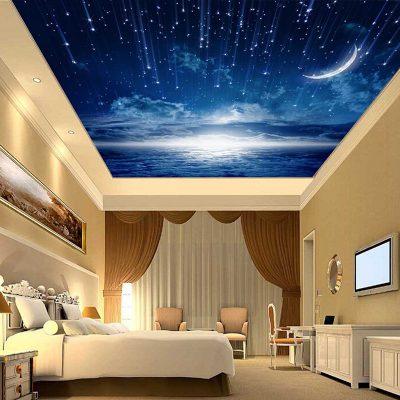 Потолок с небом