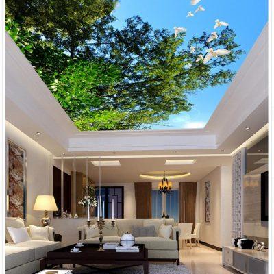 Потолок с фотообоями