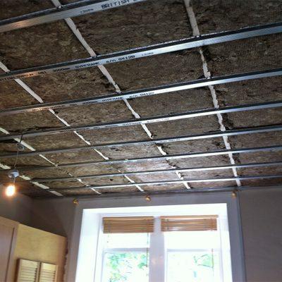 Потолок шумоизоляция