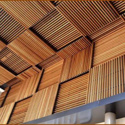 Рейки на потолке фото