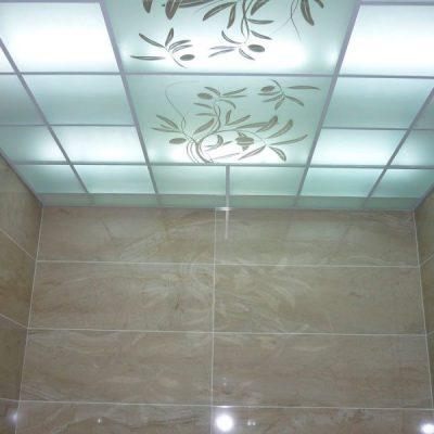 Стеклянный потолок фото