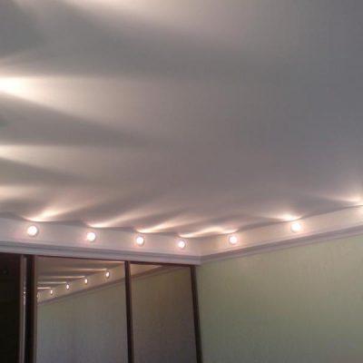 Тканевый потолок для дома