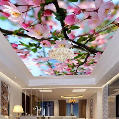 Фотообои потолок