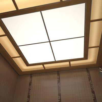 Фото стеклянный потолок
