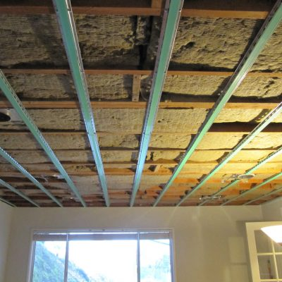 Шумка потолка в квартире