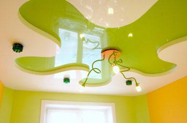 Фигурный потолок