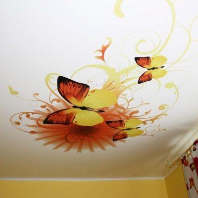 Арт узоры с бабочками