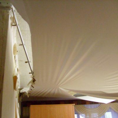 Некачественный потолок
