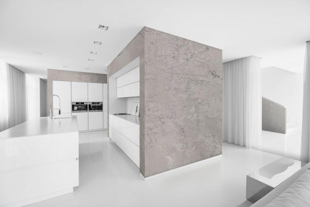 Декоративный эффект бетона