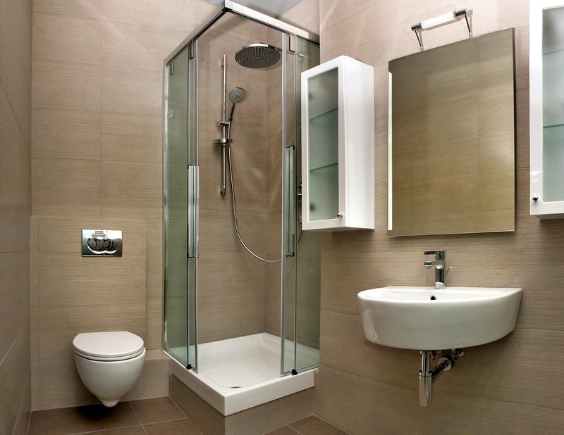 Дизайн ванной небольшого размера
