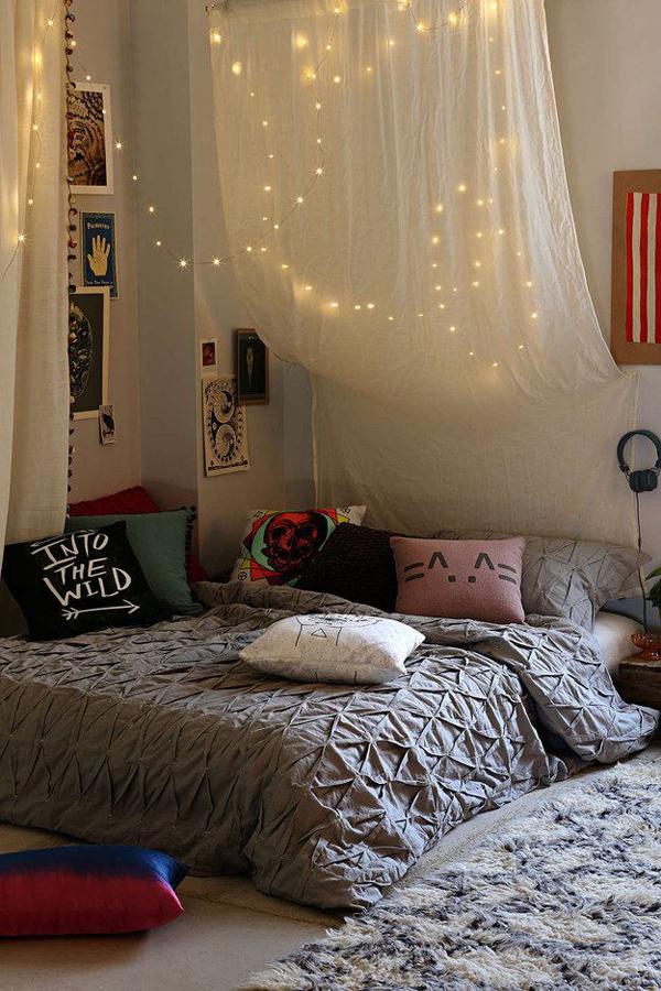 Милый дизайн спальни для девочек