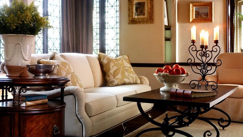 Прекрасное оформление гостиной