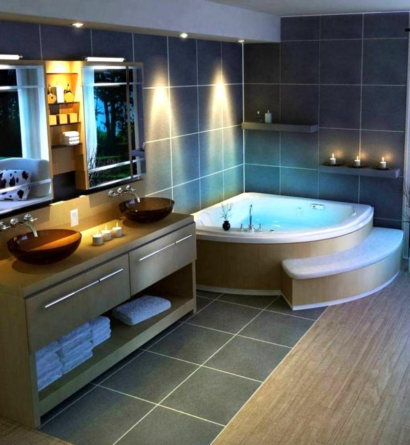Современное решение для ванной комнаты