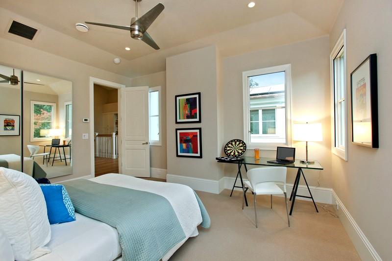 Современное решение для дизайна спальни