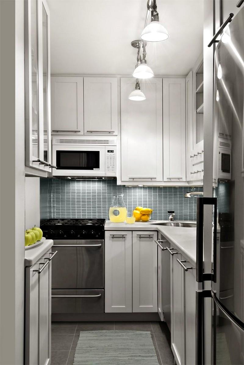 Современное решение для небольшой кухни