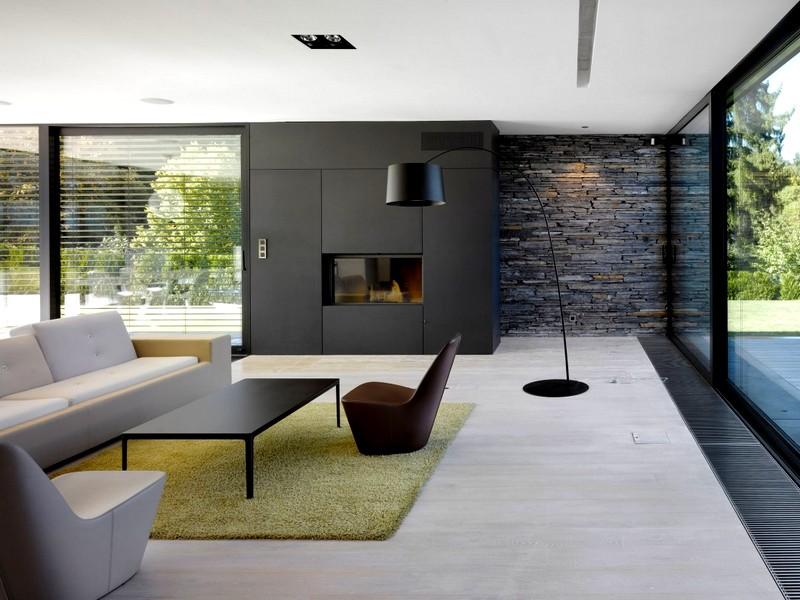 Современный стиль интерьера для гостиной
