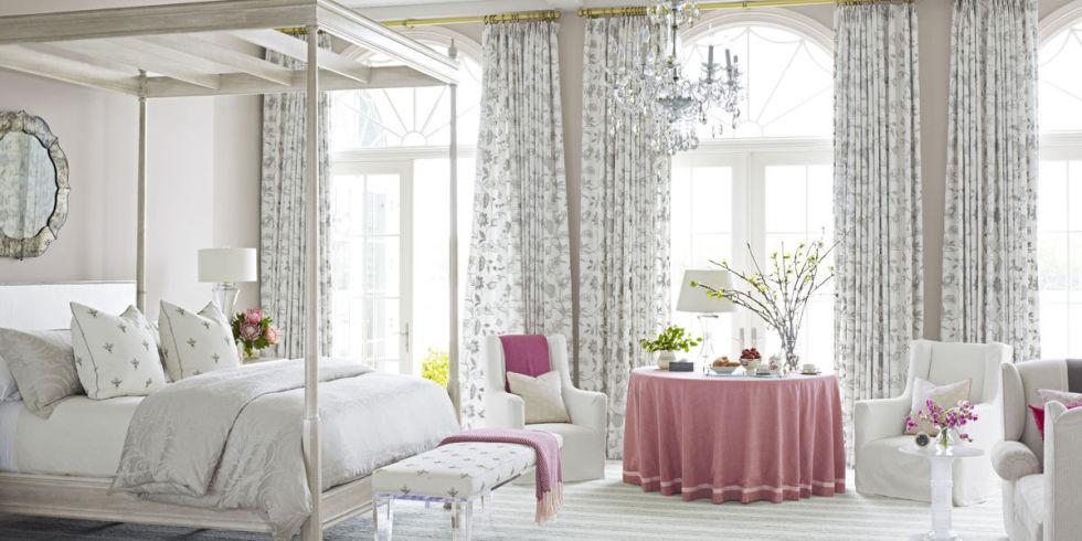 Уютный вариант дизайна для спальной комнаты