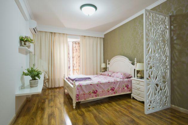 оливковые стены в спальне стиля прованс